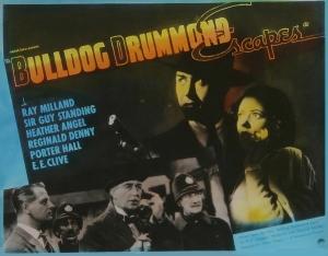 Poster - Bulldog Drummond Escapes_01