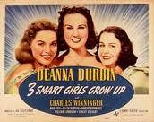 three girls grow up