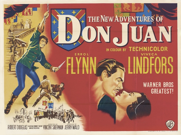 Poster - Adventures of Don Juan_02