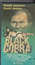 black cobra vhs