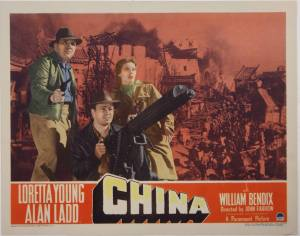 China   (1943)   Alan Ladd Day 4 of 5