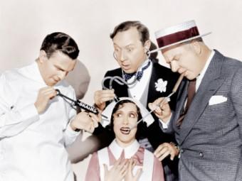 international-house-from-left-george-burns-gracie-allen-franklin-pangborn-w-c-fields-1933