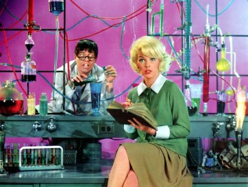 Jerry Lewis _amp_ Stella Stevens in THE NUTTY PROFESSOR _1963_
