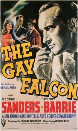 gay falcon poster