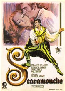 Image result for SCARAMOUCHE 1952 movie