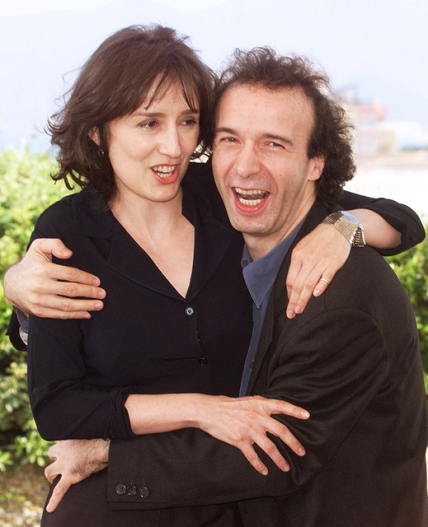 Italian director Roberto Benigni poses for photogr