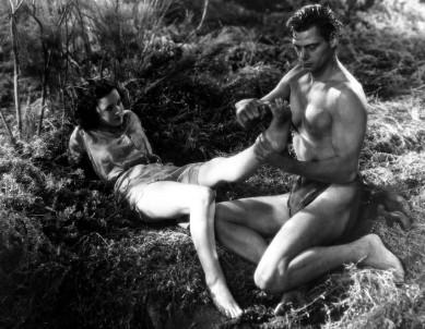 Johnny-Weissmuller-and-Maureen-OSullivan-in-Tarzan-the-Ape-Man-1932