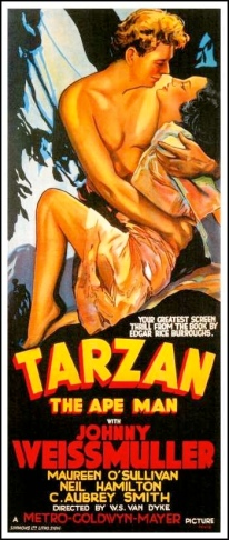 Tarzan the Ape Man poster-tm