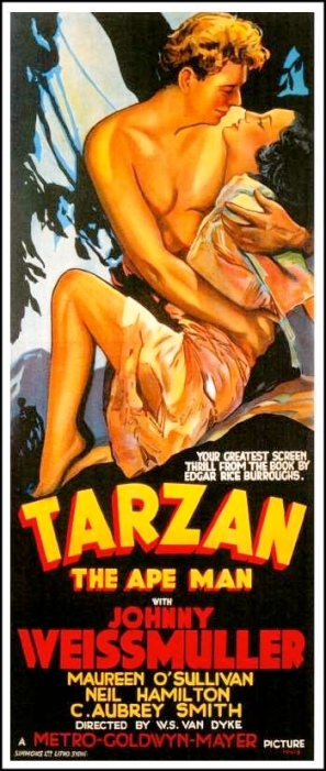 Tarzan the Ape Man poster-tm