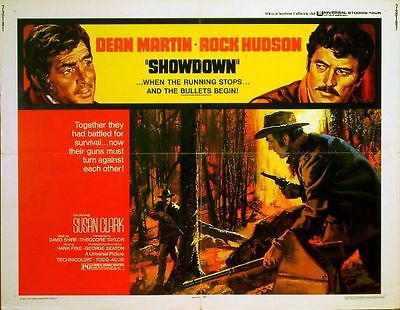 SHOWDOWN-1973-Rock-Hudson-Dean-Martin-US-HALF
