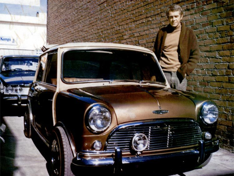 mcqueen and brown car