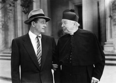 TROUBLE ALONG THE WAY, John Wayne, Charles Coburn, 1953