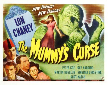 mummy's curse half sheet