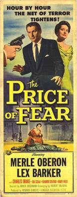 price of fear insert