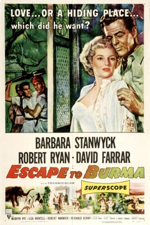 escape to burma one sheet