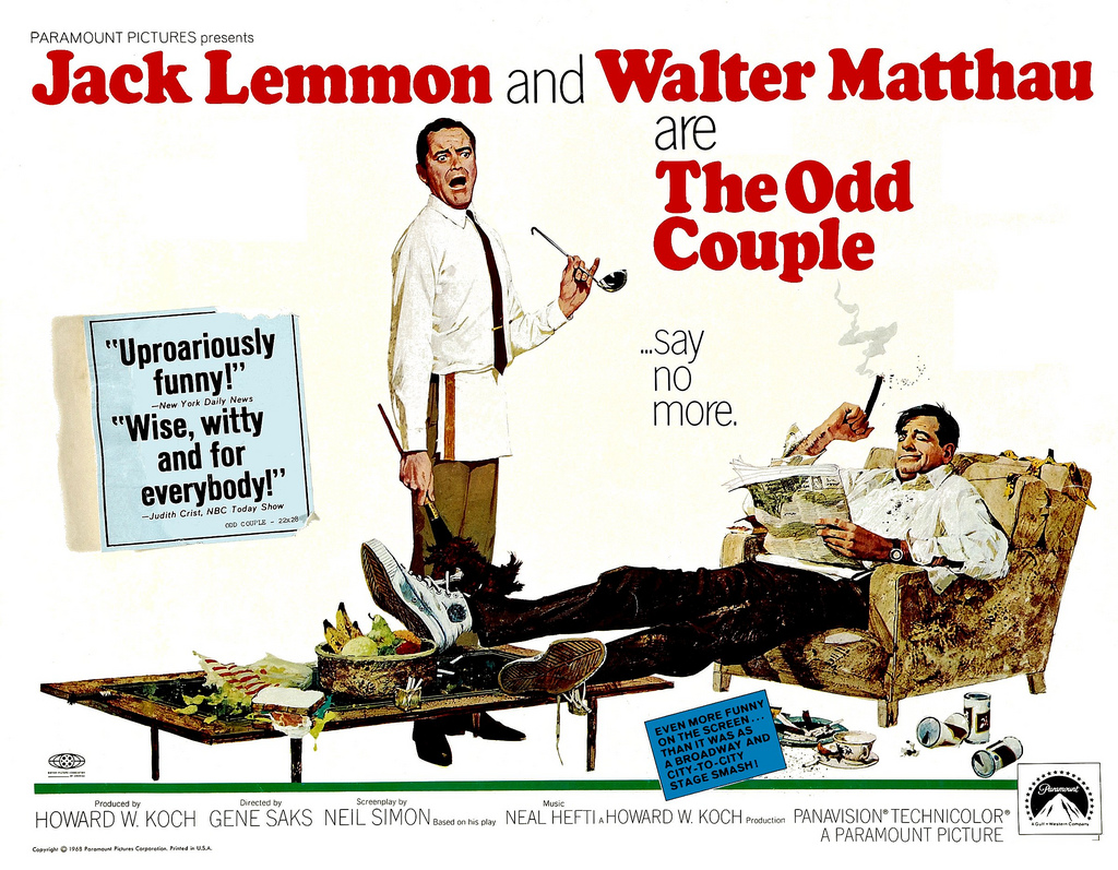 Neal Hefti The Odd Couple Music From The Original Motion Picture Score