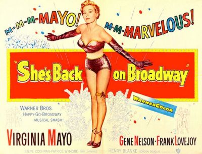 back on broadway poster