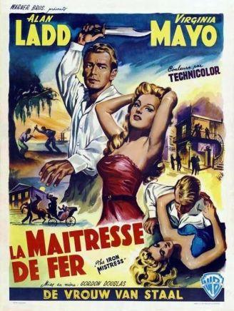 iron mistress poster