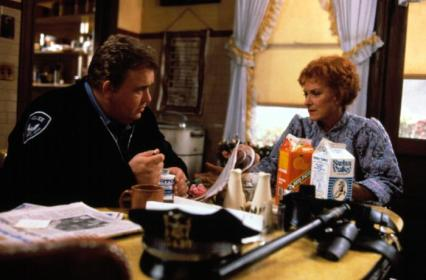 ONLY THE LONELY, John Candy, Maureen O'Hara, 1991, TM & Copyright (c) 20th Century Fox Film Corp. All rights reserved.