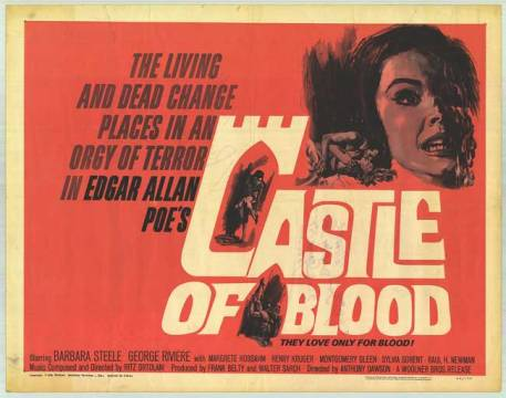 castle of blood one sheet