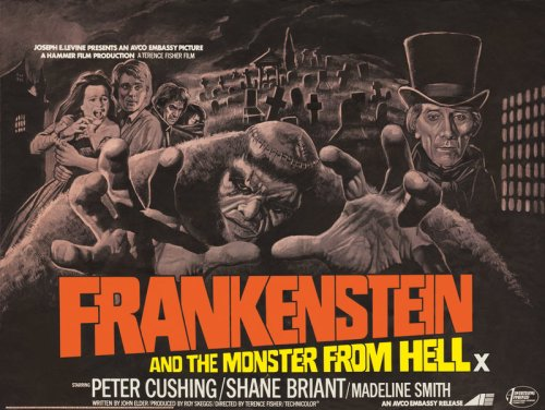 frankenstein and monster from hell