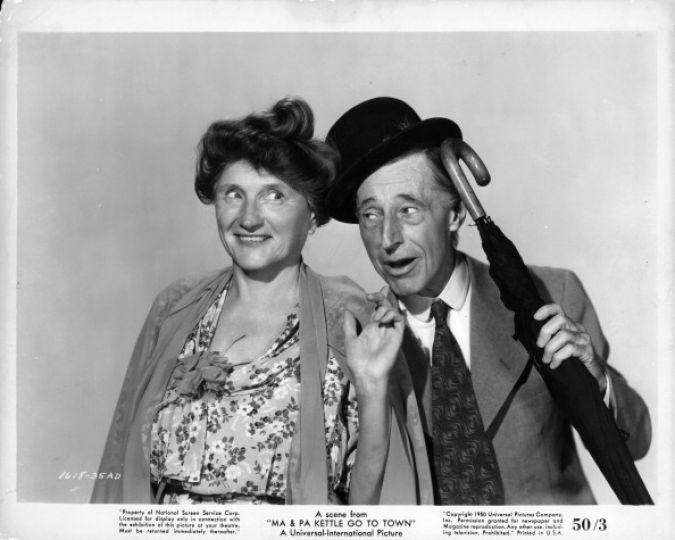 Ma And Pa Kettle ~ Ma and pa kettle mike s take on the movies