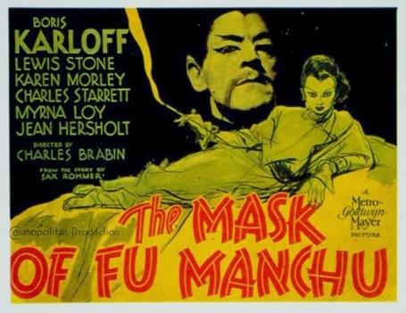 1932 mask of fu manchu a