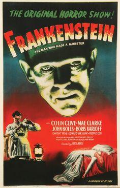 frankenstein one sheet