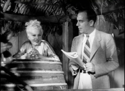Jean Harlow + Pat O'Brien Bombshell Lola in Red Dust