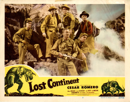 lost continent lobby