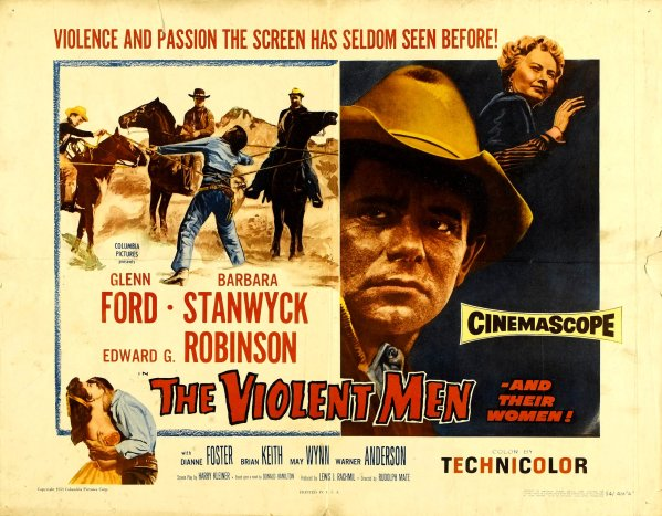 the violent men half sheet