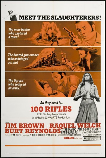 100 rifles one sheet