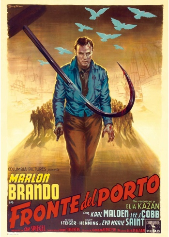 On-the-Waterfront-1954-Italian-Movie-Poster-Art-by-Anselmo-Ballester-Marlon-Brando
