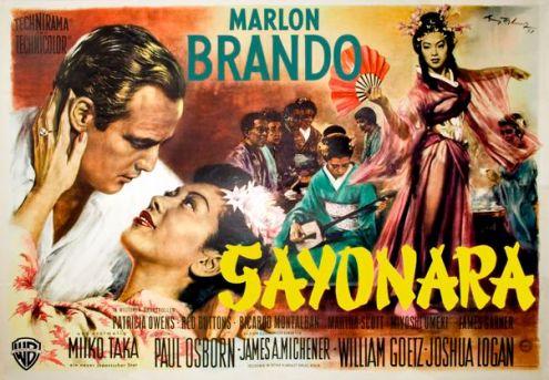 sayonara poster