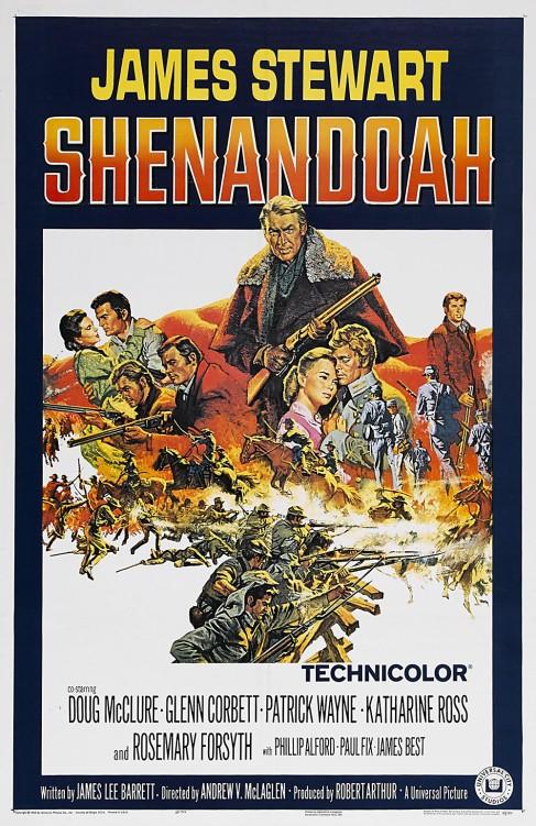 shenadoah one sheet