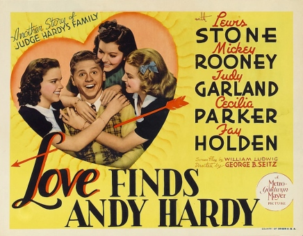 love finds and hardy poster