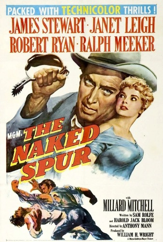 naked spur poster