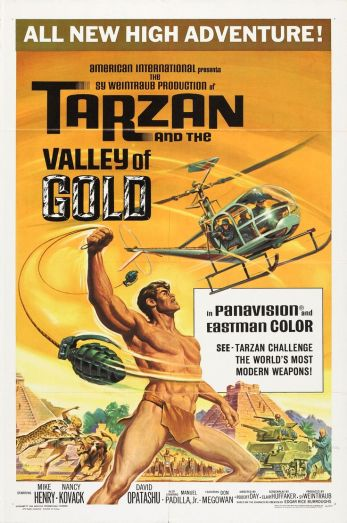 tarzan valley of gold