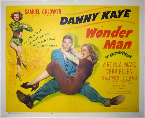 wonder man half sheet