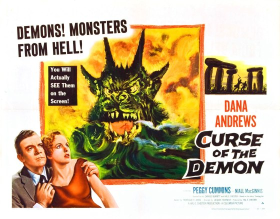 curse of demon half sheet