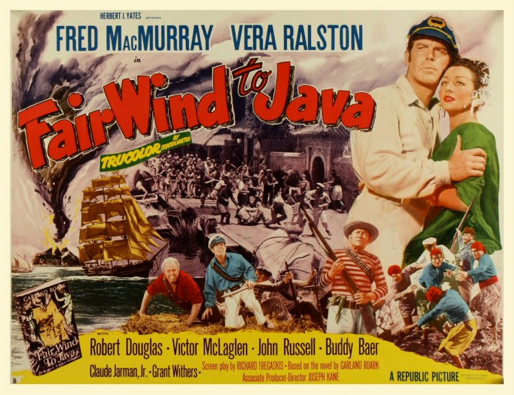 Fair Wind to Java (1953) – Mike's Take On the Movies ...