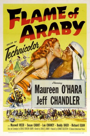 flame of araby one sheet