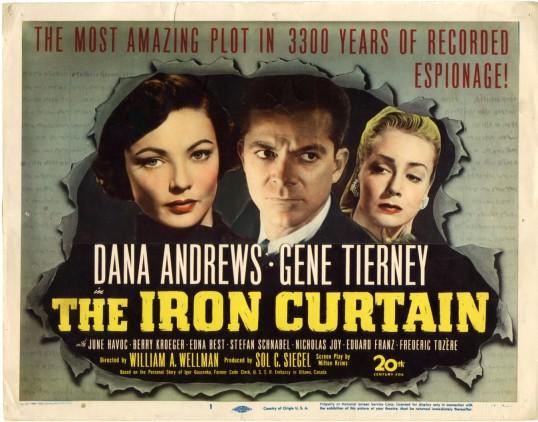 iron curtain half sheet