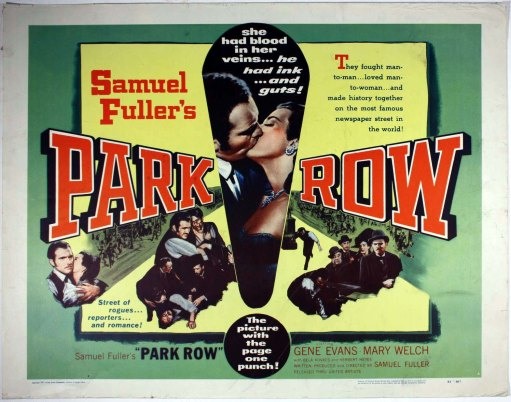 park row half sheet