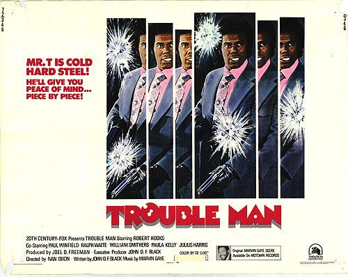 trouble man half sheet