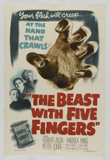 beast with five fingers one sheet