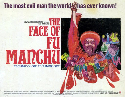 face of fu manchu