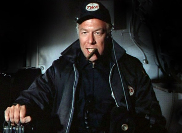 george kennedy in airport