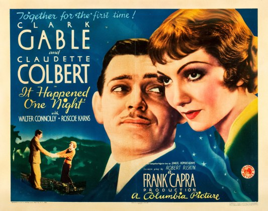 it happened one night halfsheet