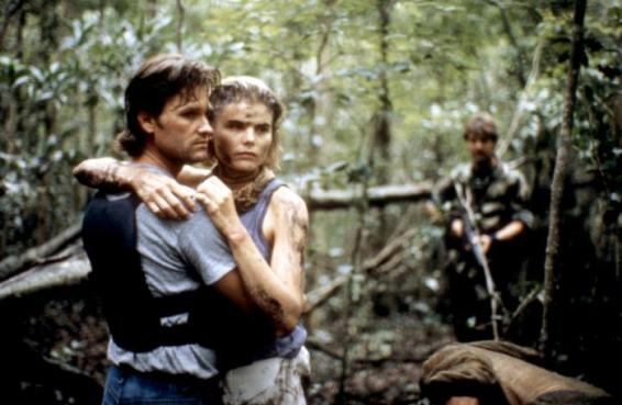 THE MEAN SEASON, Kurt Russell, Mariel Hemingway, 1985, (c)Orion Pictures